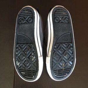 176716e6081b Converse Shoes - Converse Gray and Red Laceless Chuck Taylors